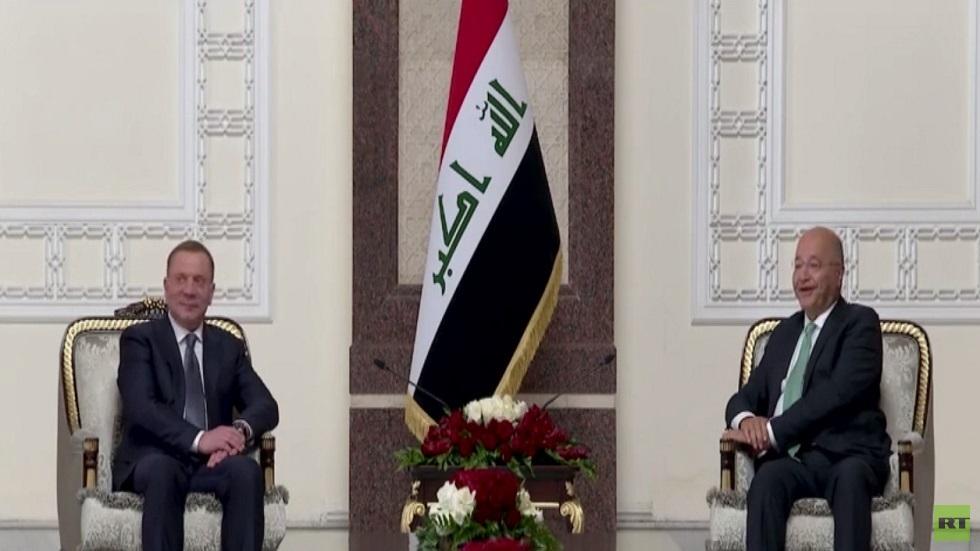 نائب رئيس الحكومة الروسي في بغداد