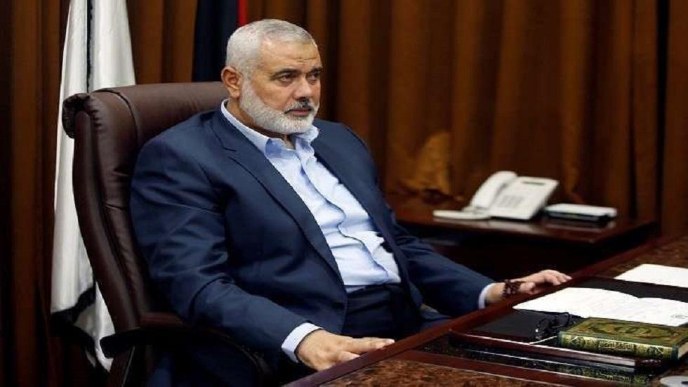 رئيس المكتب السياسي لحركة حماسإسماعيل هنية