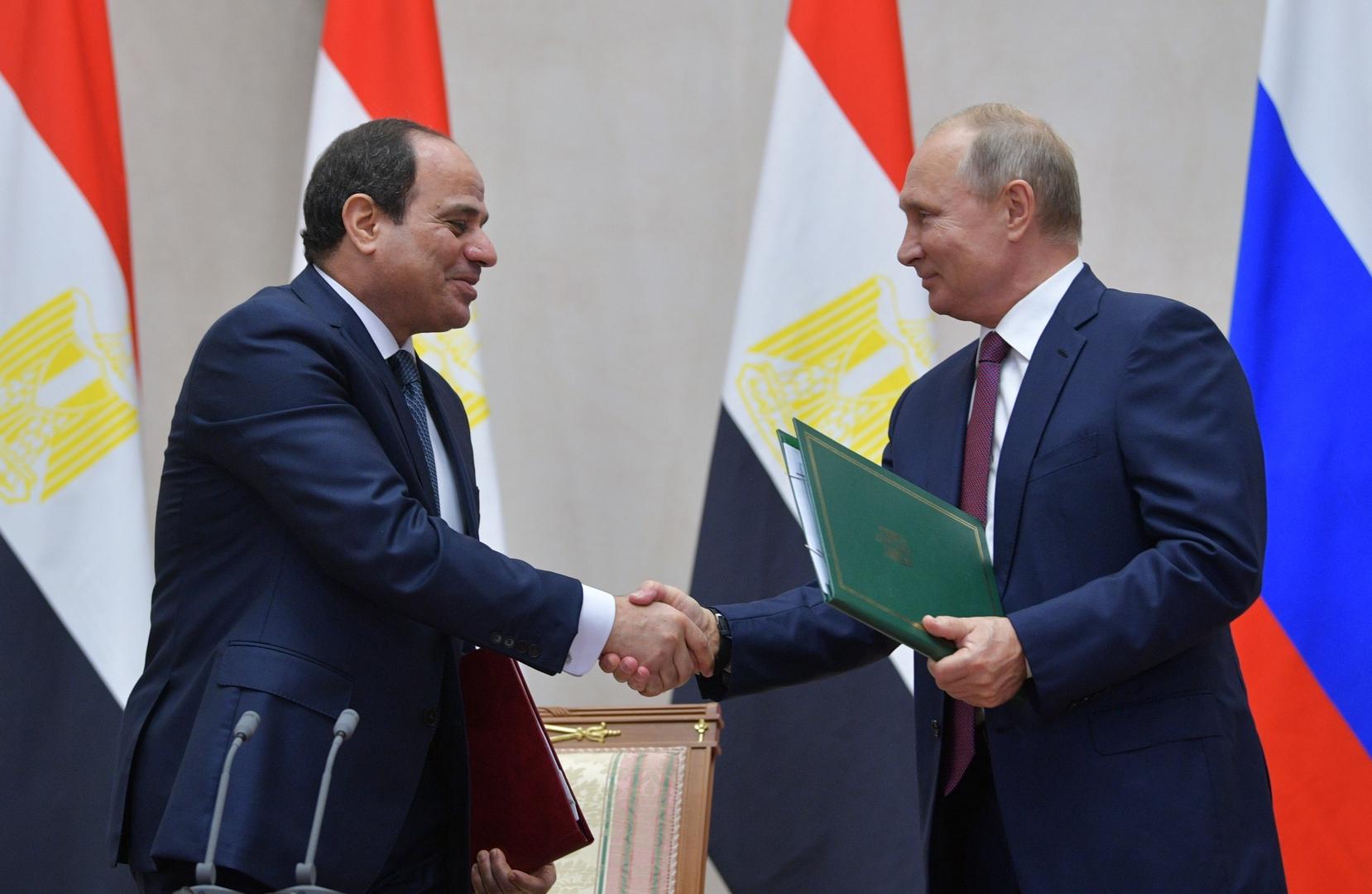 استئناف الرحلات والتعاون الاستراتيجي وليبيا.. الكرملين يكشف فحوى اتصال بوتين مع السيسي