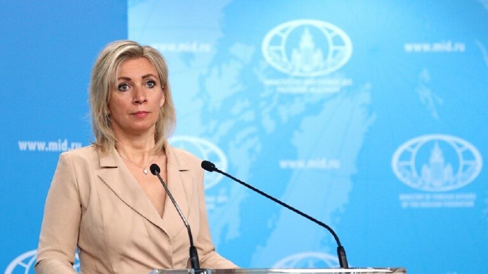 زاخاروفا تحث أوكرانيا على التفكير في التطعيم وليس بالسلاح النووي