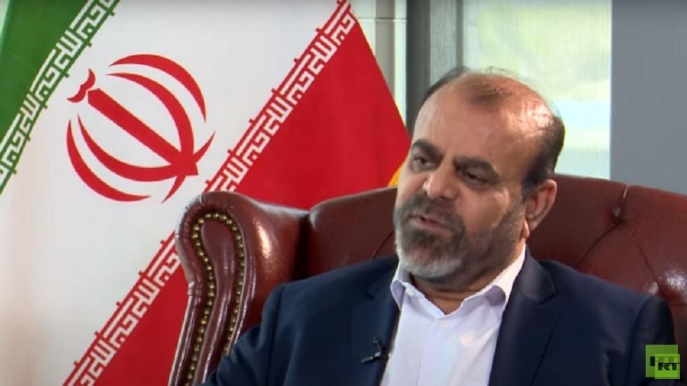 رستم قاسمي يدافع عن تصريحاته لـRT ويرد على بيان الخارجية الإيرانية