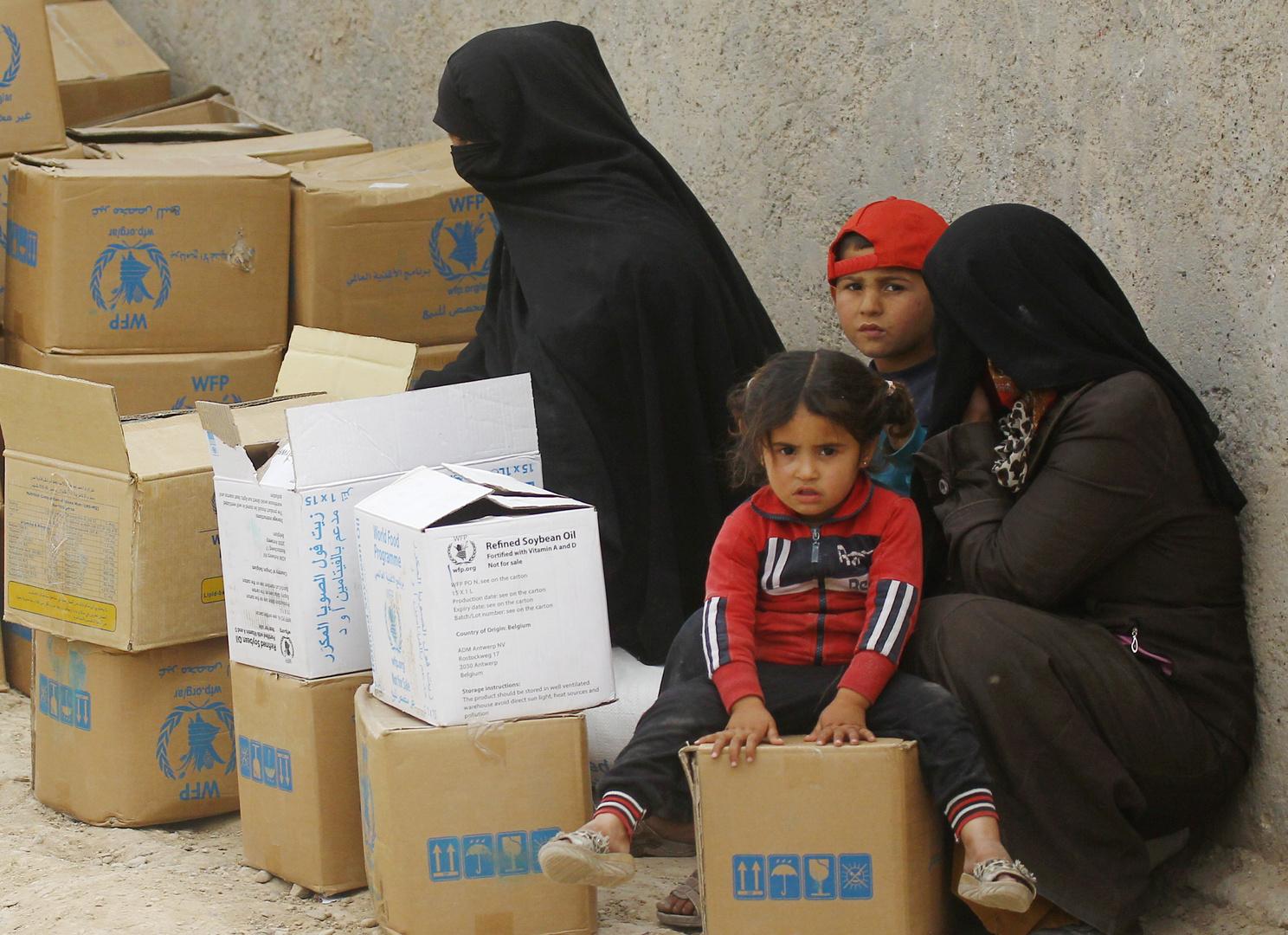 لافروف يبحث مع مدير برنامج الأغذية العالمي تقديم مساعدات إلى سوريا ودول أخرى