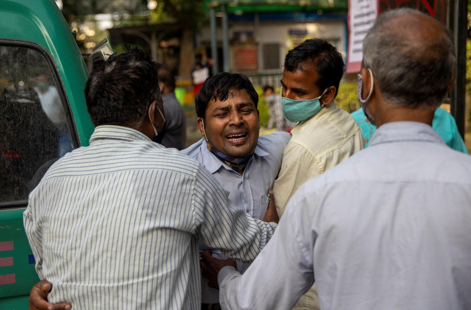 وفاة 25 مصابا بكورونا في مستشفى هندي بسبب نقص الأكسجين