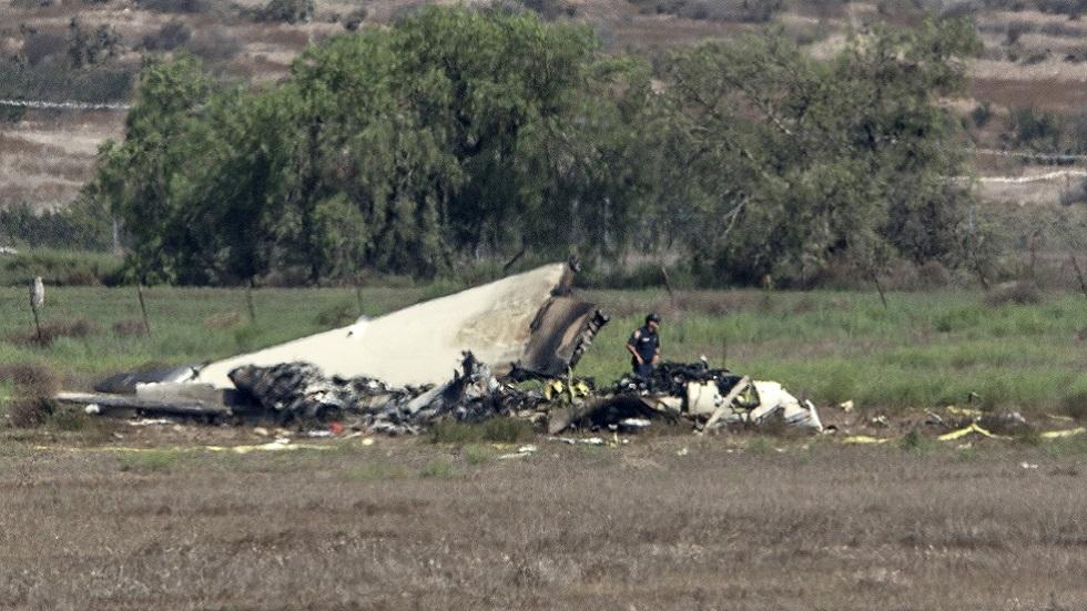 تحطم طائرة في الولايات المتحدة (صورة أرشيفية)
