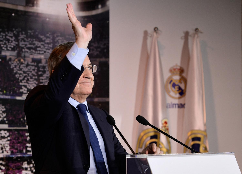 رئيس ريال مدريد يصر على عودة دوري السوبر