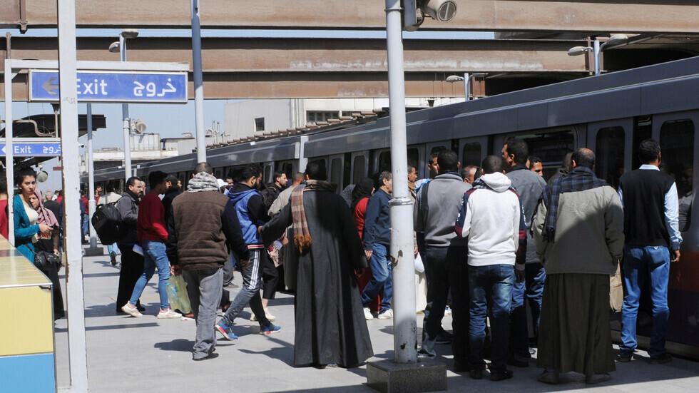 مصر.. مصدر يكشف تفاصيل اصطدام عربة مترو بدعامة معدنية - فيديو