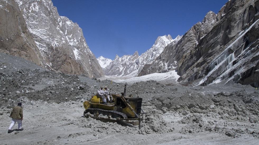 مصرع 8 أشخاص على الأقل جراء انهيار جليدي في الهند