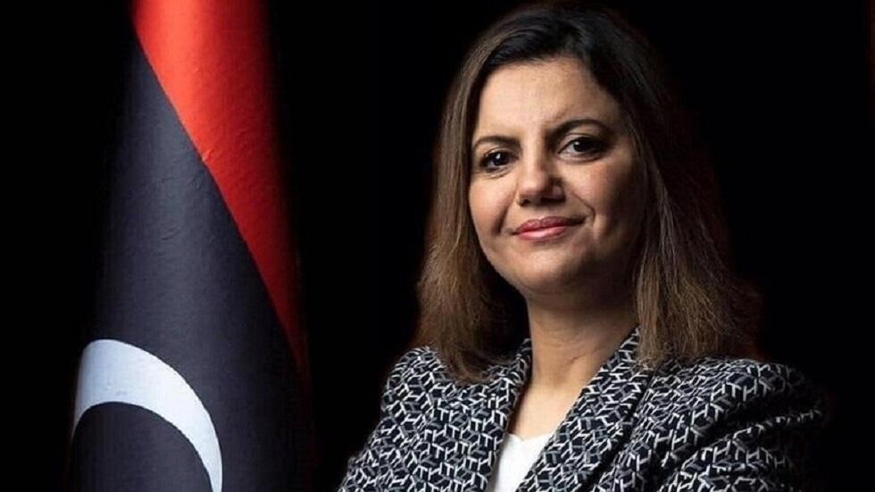 وزيرة الخارجية بحكومة الوحدة الوطنية في ليبيا نجلاء المنقوش