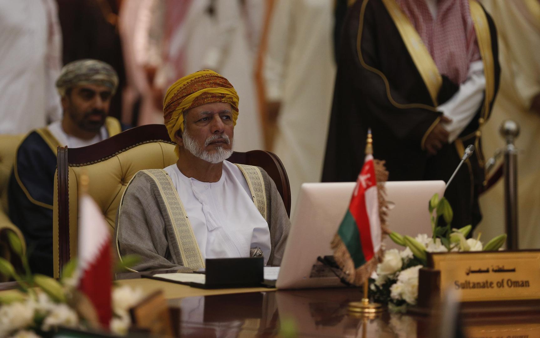 وزير الخارجية العماني السابق، يوسف بن علوي
