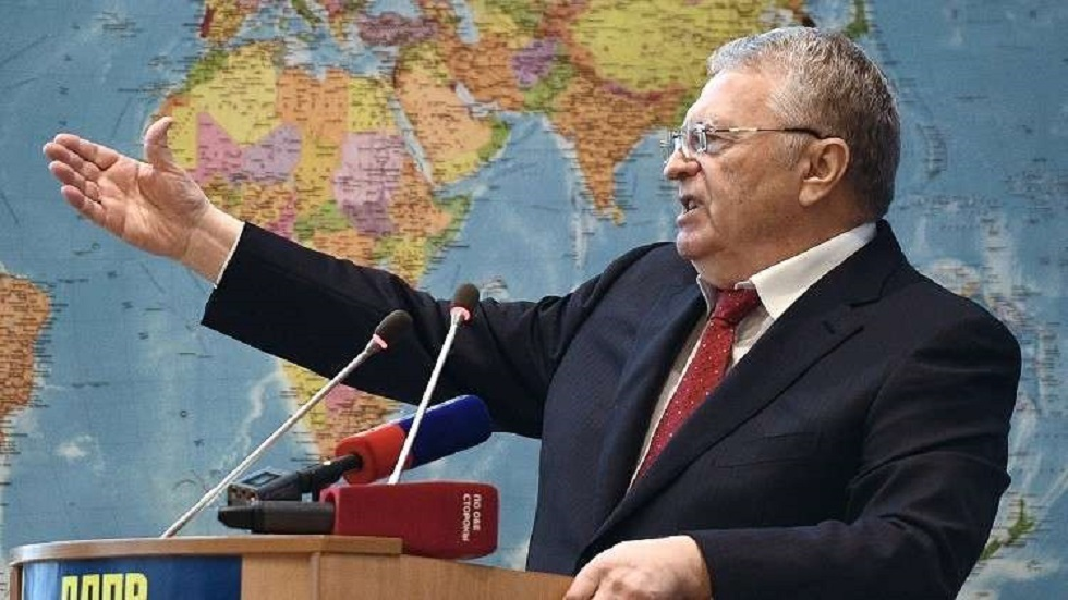 زعيم الحزب الليبرالي الديمقراطي الروسي فلاديمير جيرينوفسكي