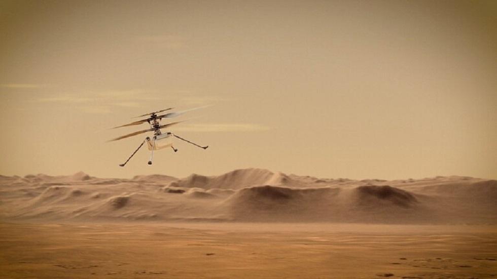 مقطع فيديو يُظهر رحلة مروحية ناسا الطويلة الثالثة والمفاجئة على المريخ!