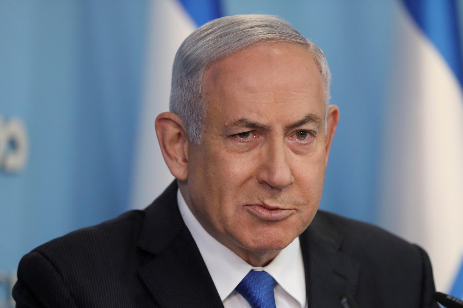 رئيس الوزراء الإسرائيلي المكلف بنيامين نتنياهو
