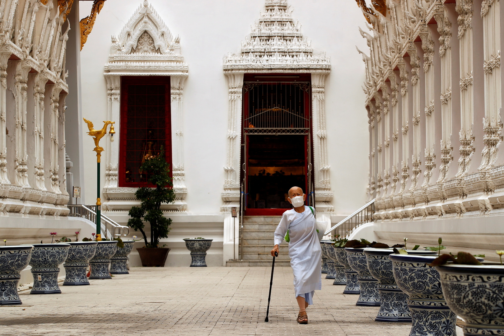 تايلاند..غرامة عدم ارتداء الكمامة قد تصل إلى أكثر من 600 دولار