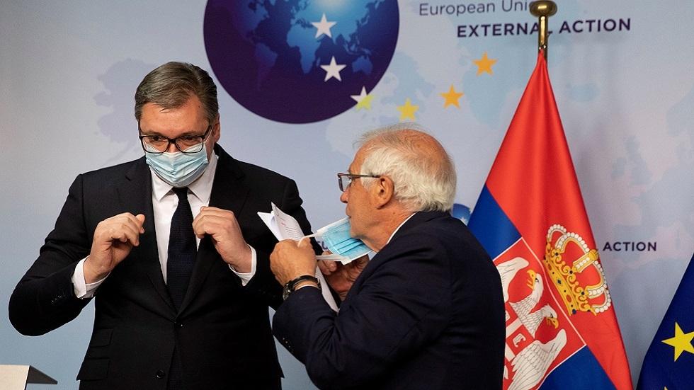 في خضم تأزم علاقاته مع موسكو.. الاتحاد الأوروبي يحث صربيا على الانضمام لأنظمة عقوباته