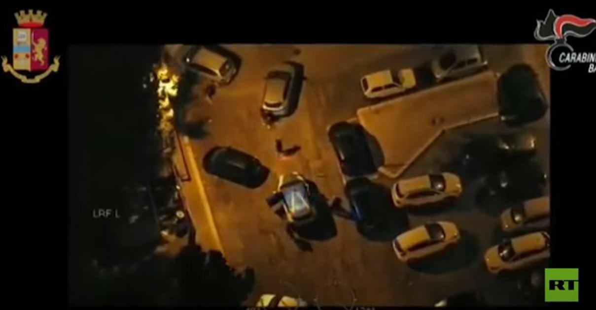 عملية واسعة النطاق ضد عصابات المافيا في إيطاليا