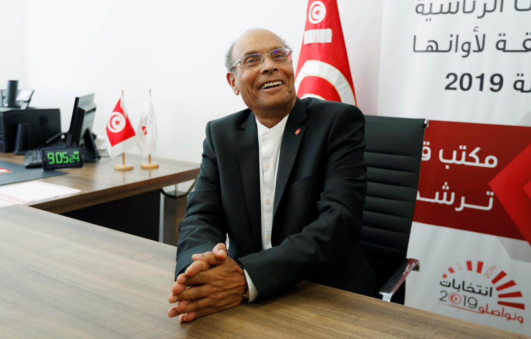 المرزوقي: ثمة في تونس من يطالب بنظام يحاكي