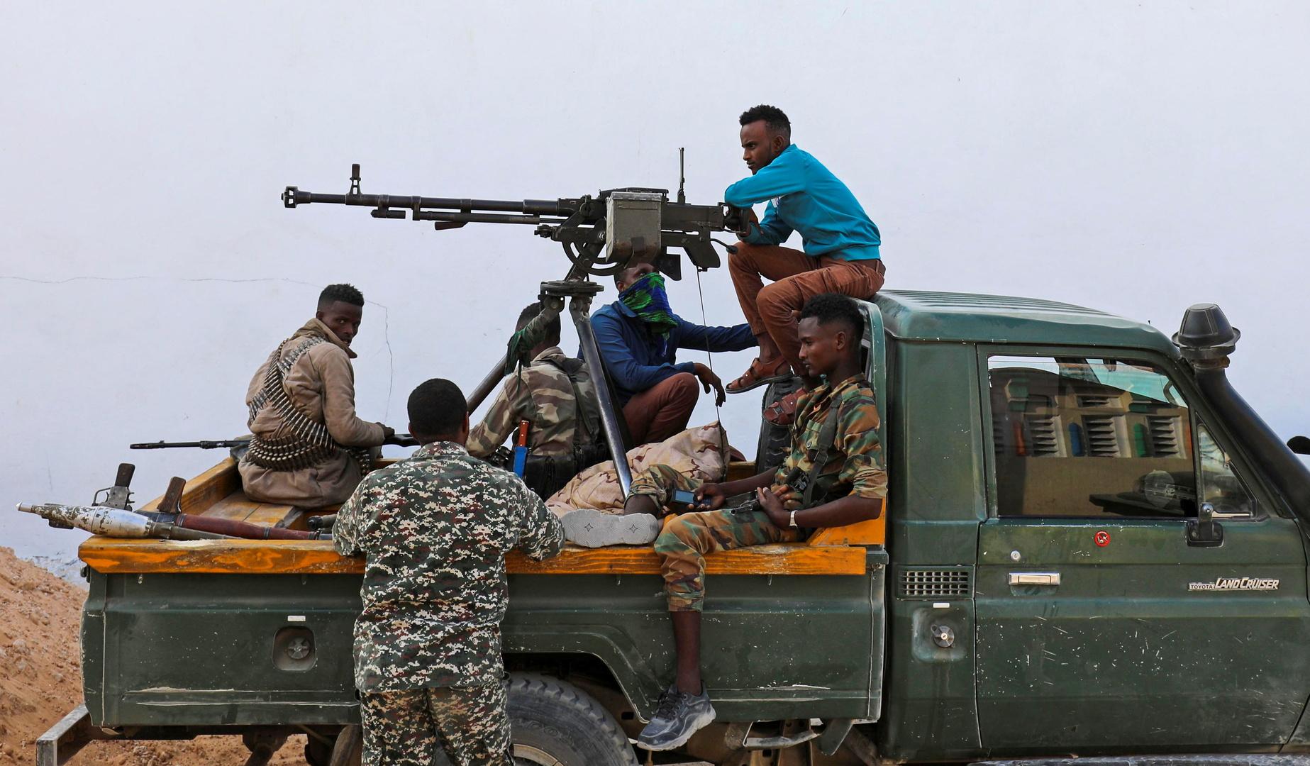 عناصر مسلحة في الصومال