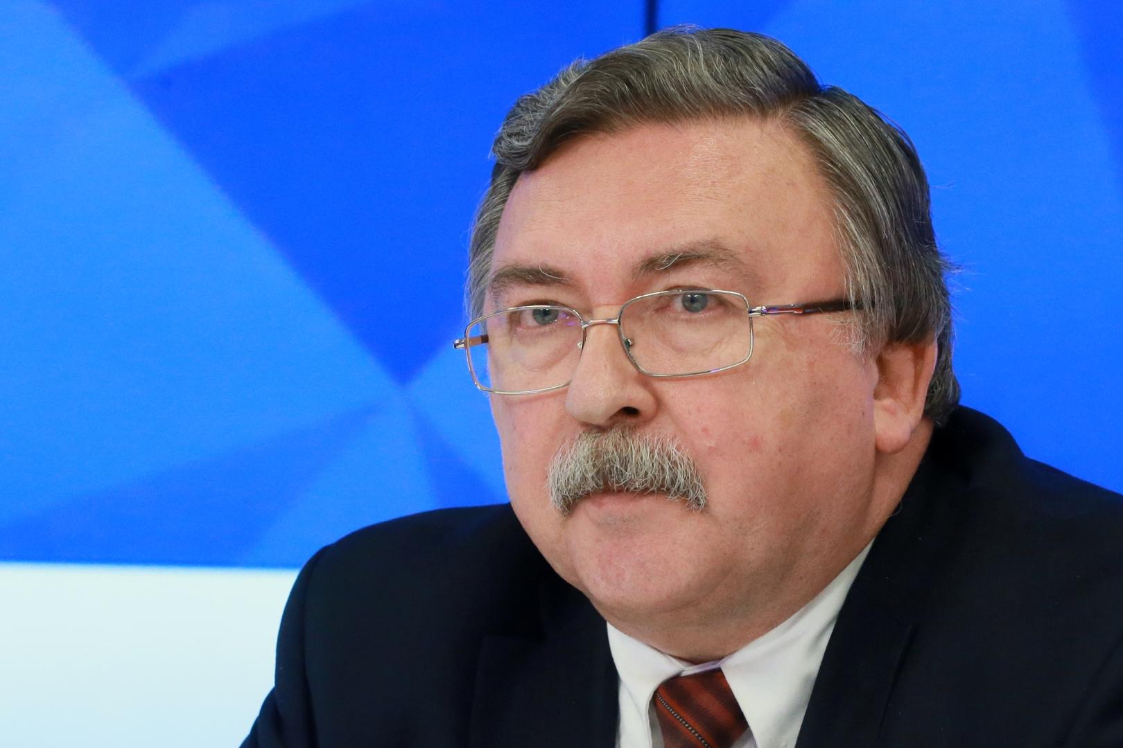مندوب روسيا الدائم لدى المنظمات الدولية في فيينا، ميخائيل أوليانوف.