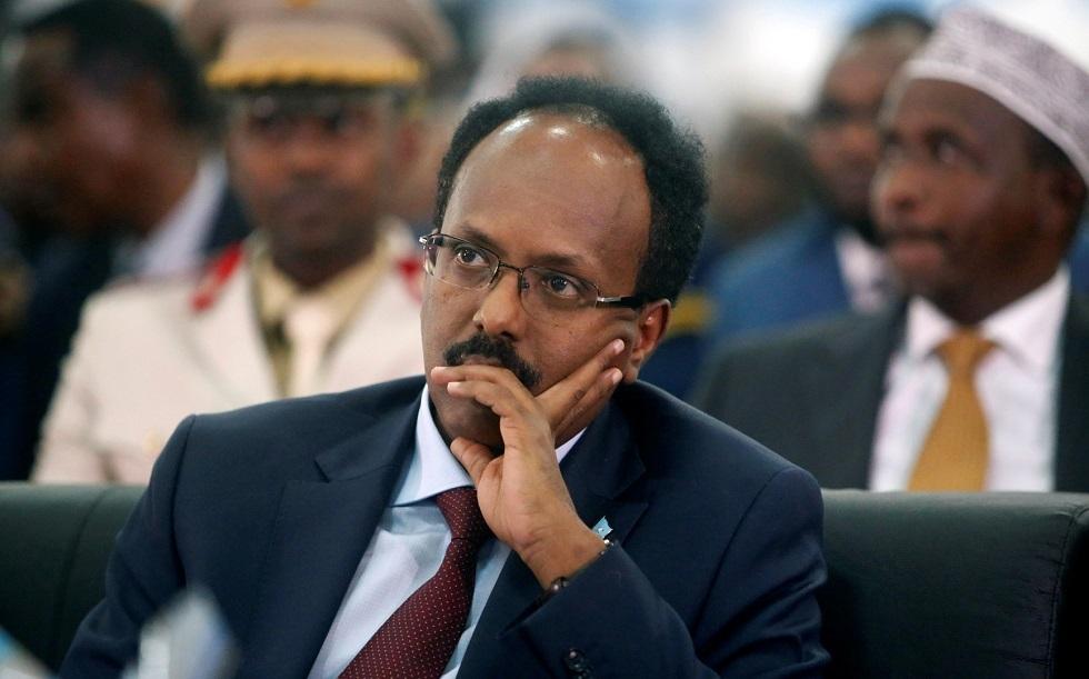 الرئيس الصومالي محمد عبد الله فرماجو