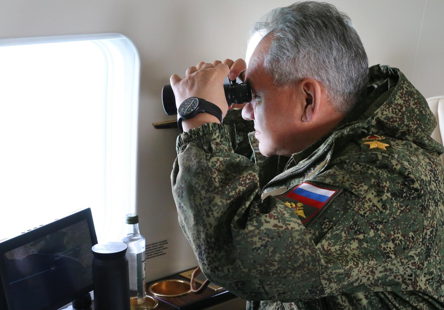 وزير الدفاع الروسين سيرغي شويغو.