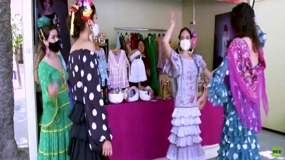راقصات الفلامنكو في أحياء إشبيلية