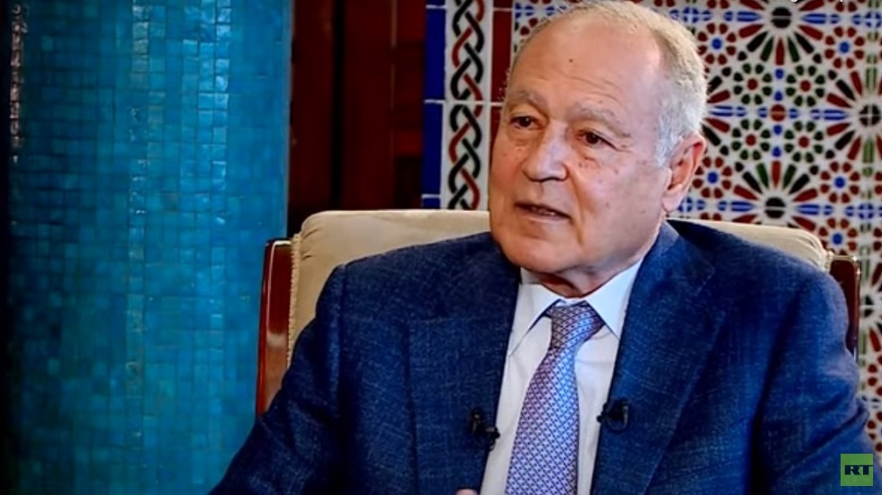 الأمين العام لجامعة الدول العربية أحمد أبو الغيط