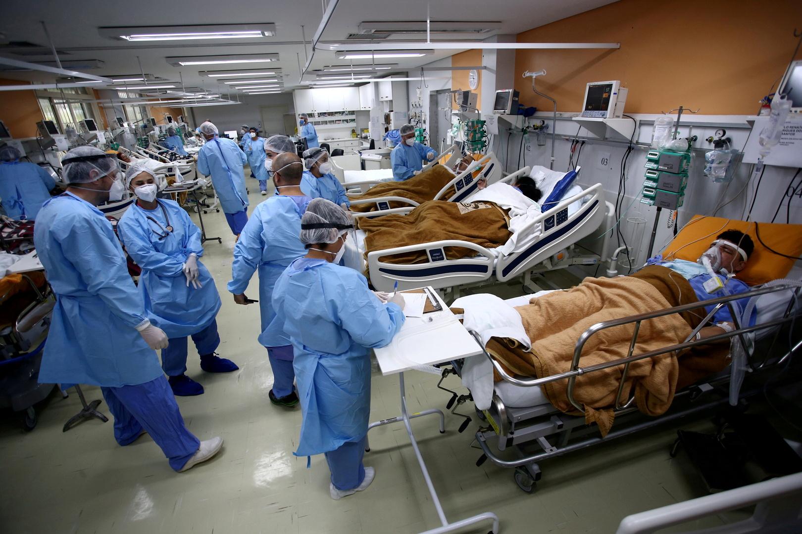 البرازيل.. 3086 وفاة و72140 إصابة جديدة بكورونا