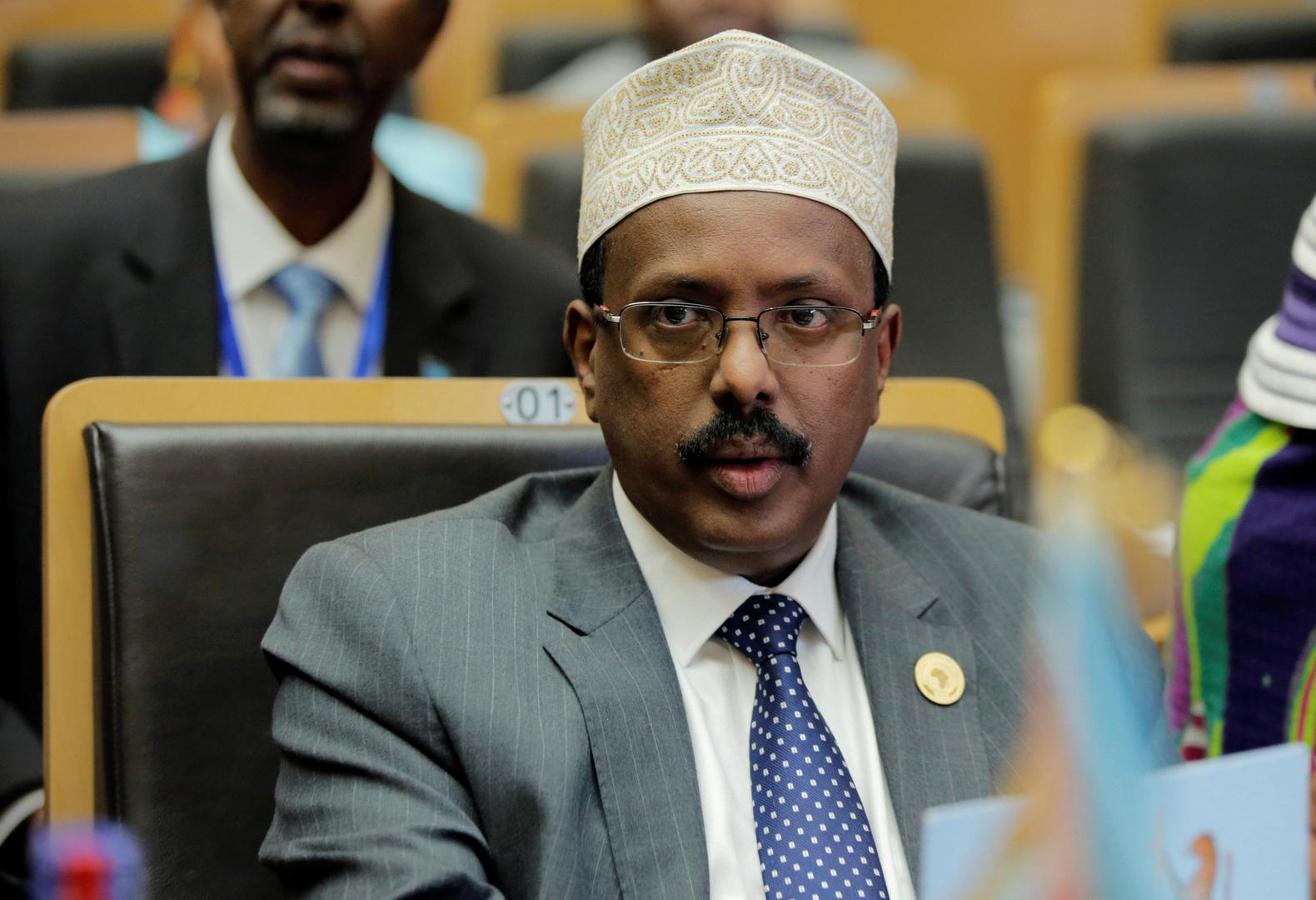 الرئيس الصومالي محمد عبد الله محمد