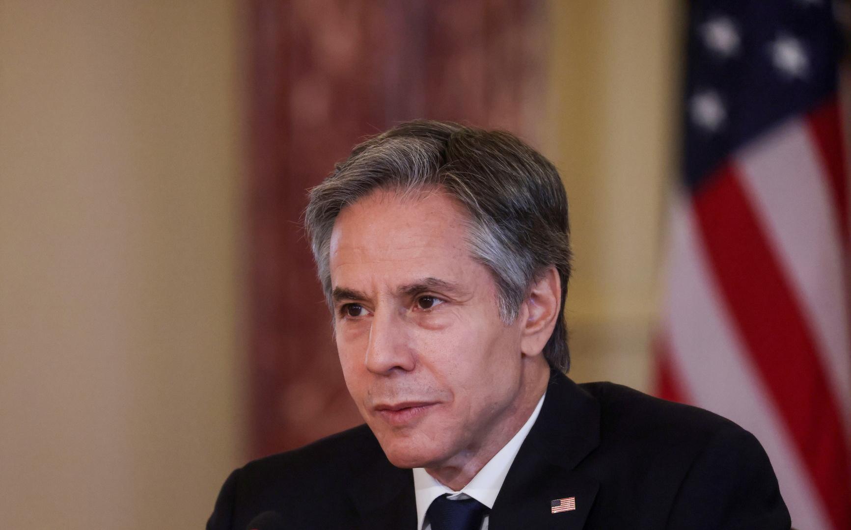 وزير الخارجية الأمريكي، أنثوني بلينكن.