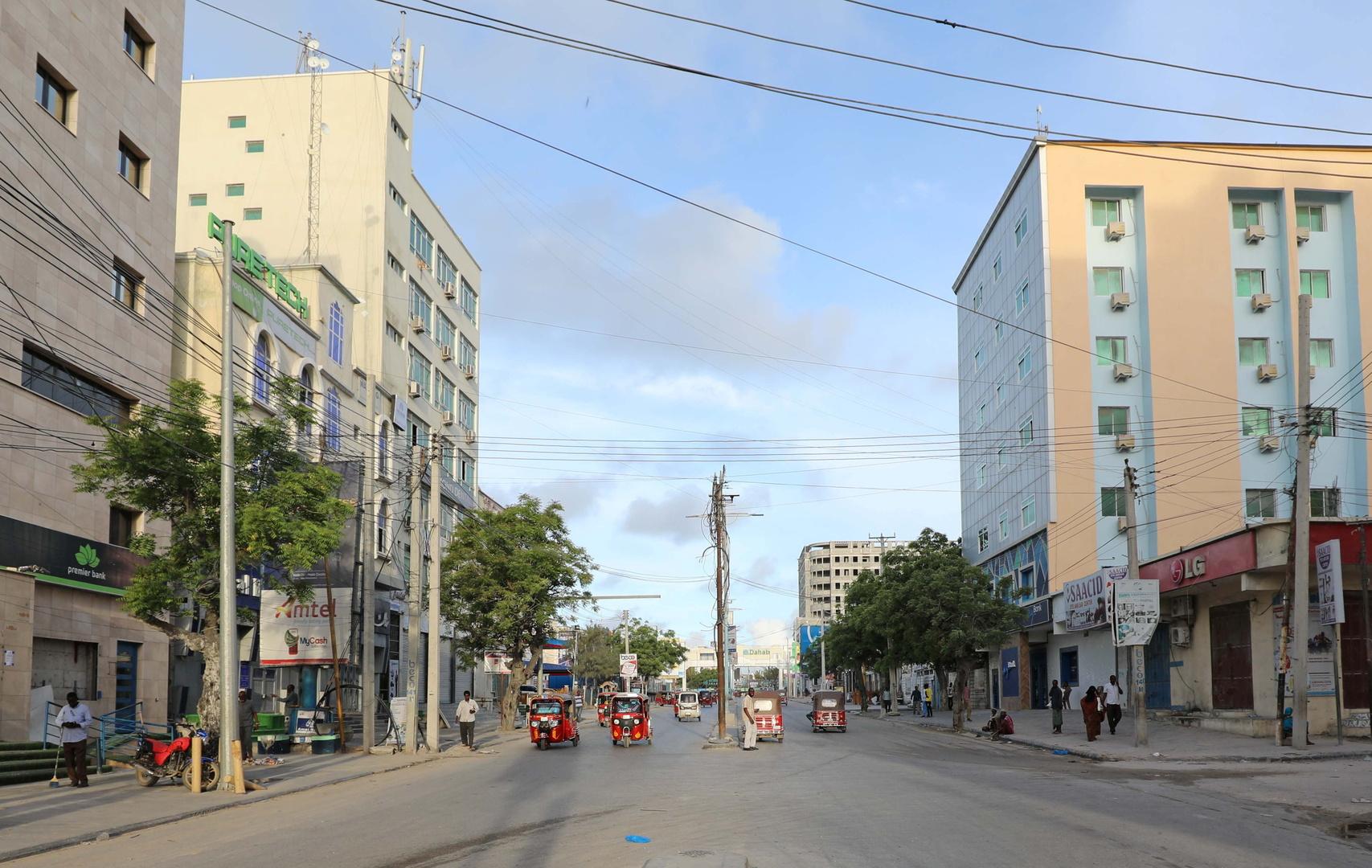 أحد شوارع العاصمة الصومالية مقديشو، صورة تعبيرية