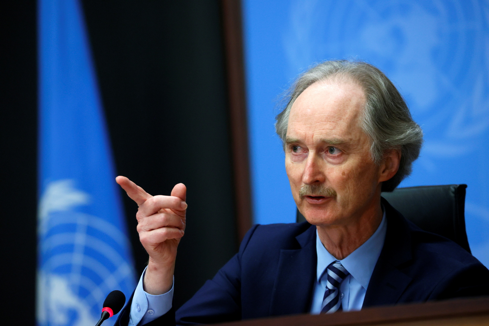 غير بيدرسون، المبعوث الأمم إلى سوريا