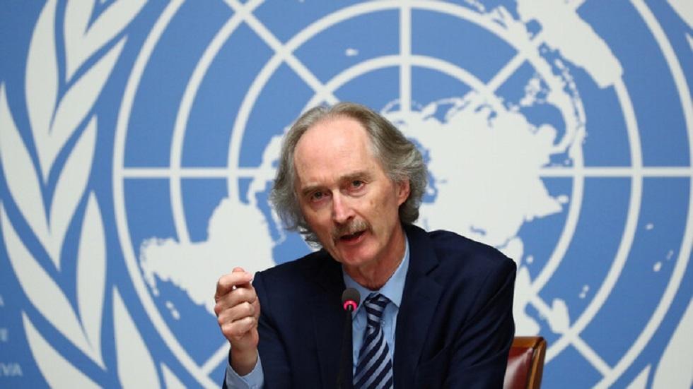 المبعوث الأممي الخاص إلى سوريا غير بيدرسون