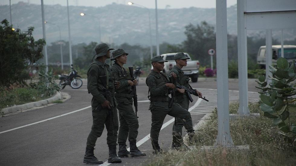 عناصر من الجيش الفنزويلي (صورة أرشيفية)
