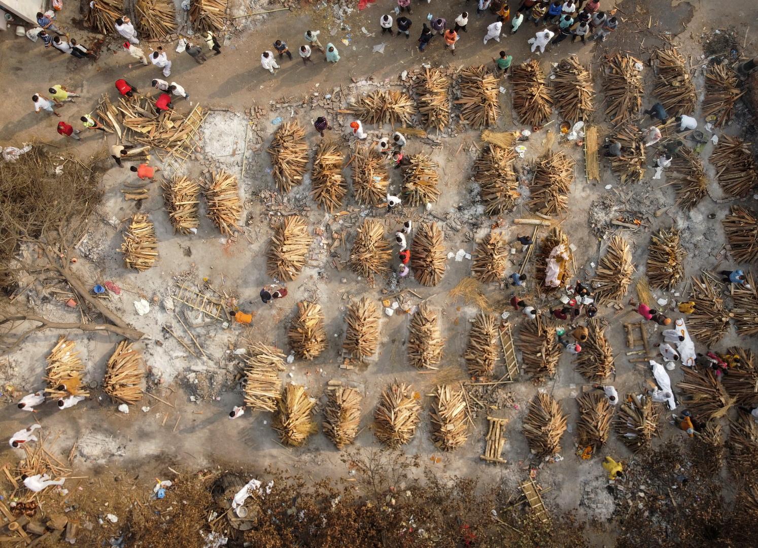الهند تسجل ارتفاعا قياسيا في عدد إصابات كورونا اليومية والإجمالي يتجاوز 18 مليون إصابة