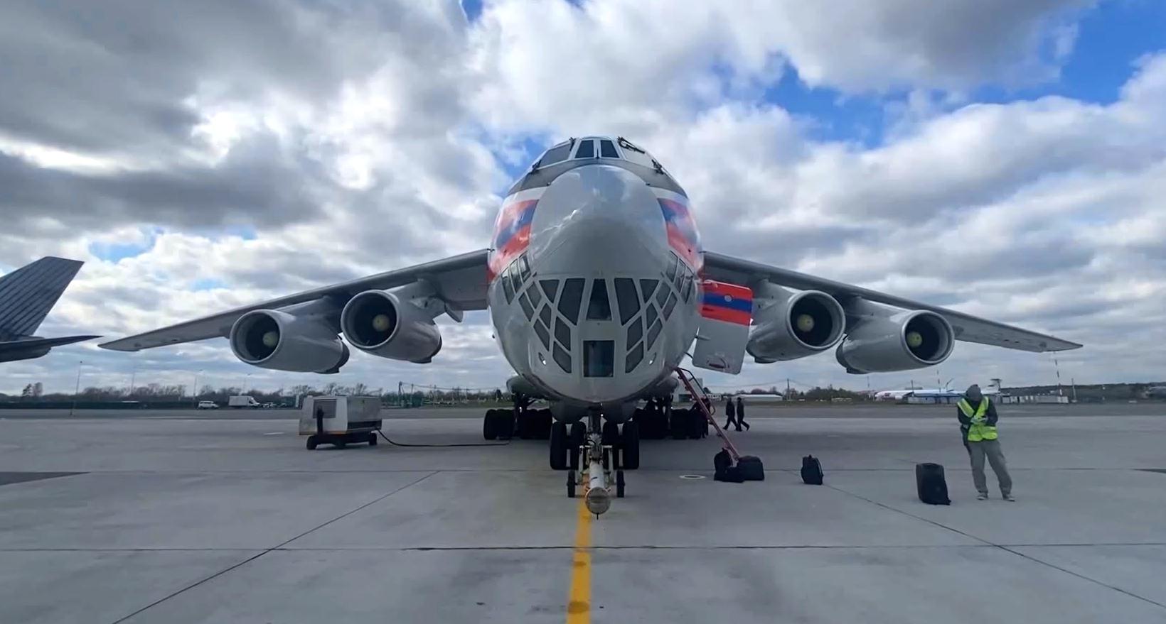 روسيا توصل مساعدات إنسانية إلى الهند