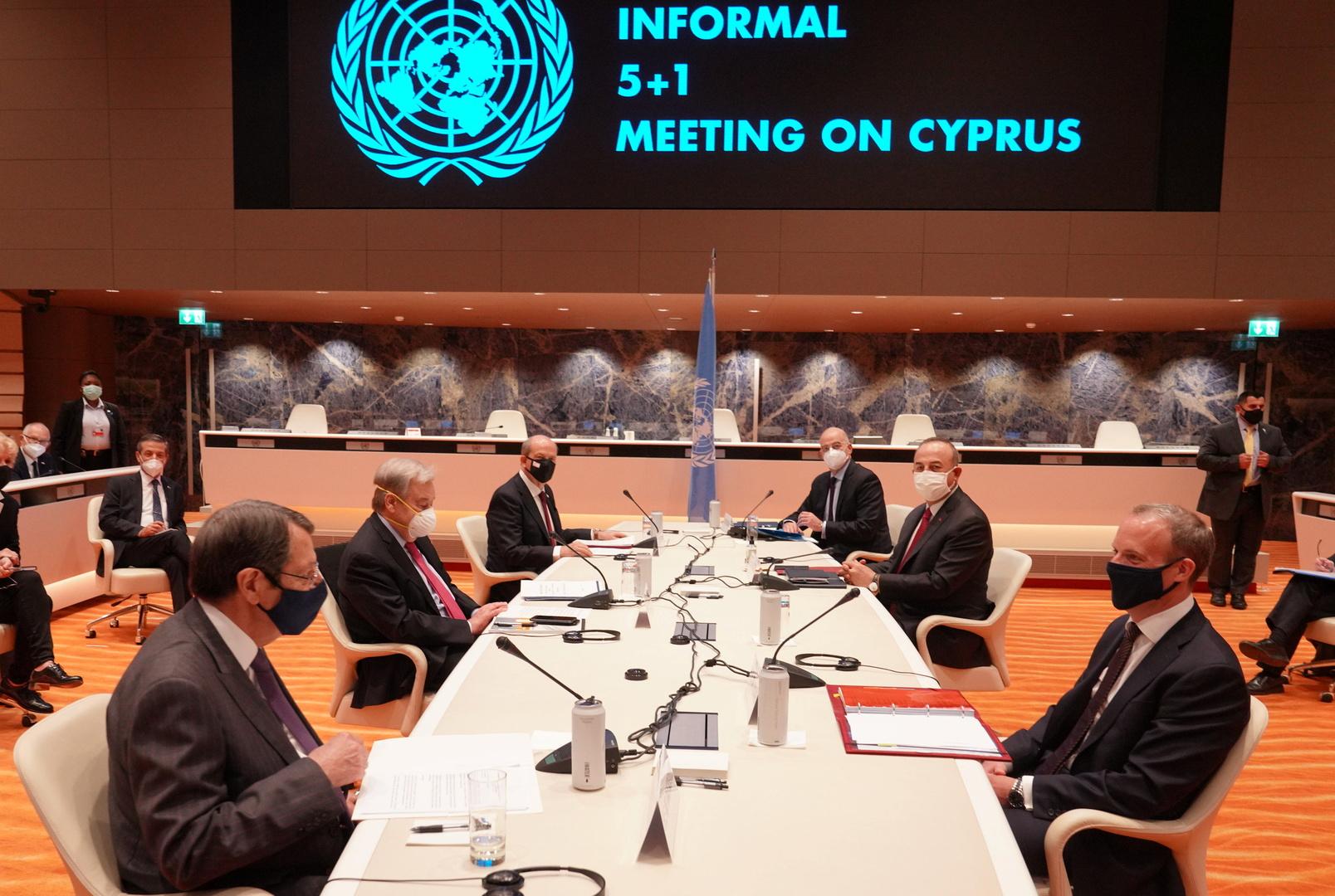 بريطانيا: المفاوضات بشأن قبرص لن تمضي قدما لغياب أرضية مشتركة