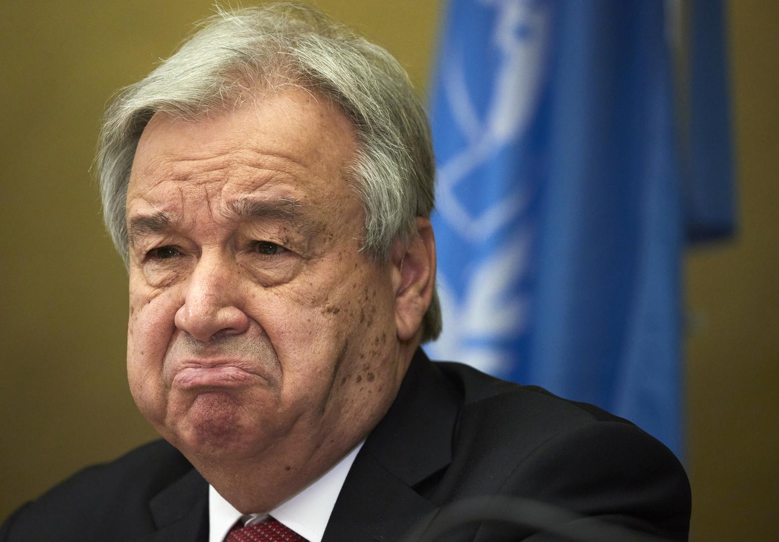 غوتيريش يؤكد عدم إحراز تقدم كاف في محادثات جنيف بشأن التسوية القبرصية