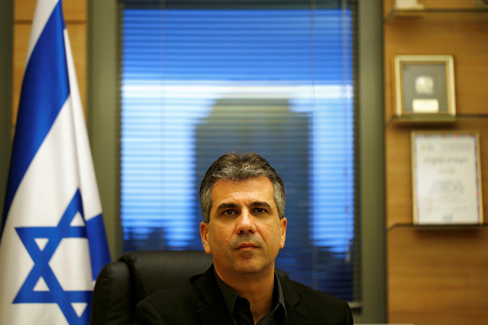 وزير الاستخبارات الإسرائيلي، إيلي كوهين.