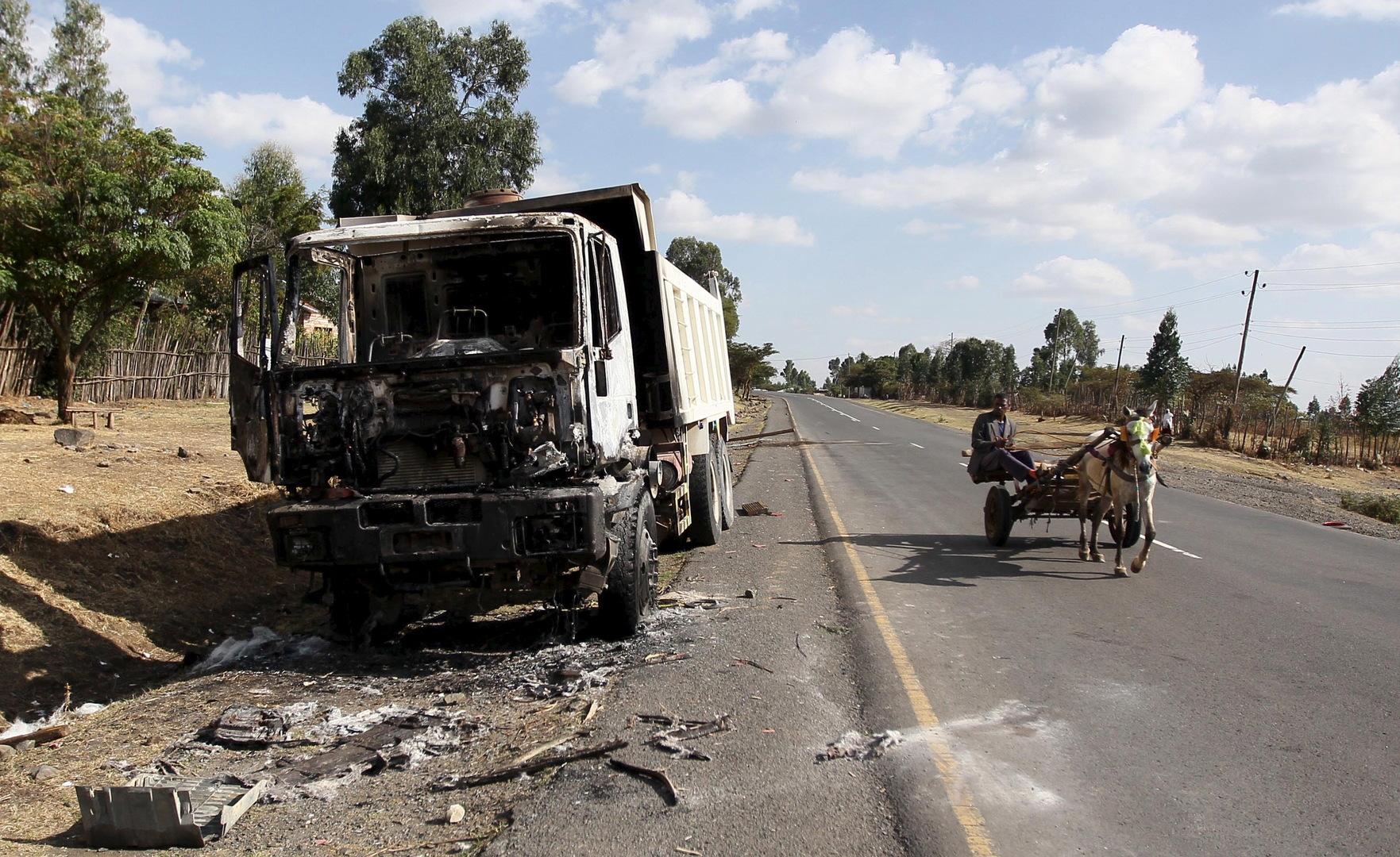 مسؤول: مسلحون يقتلون 20 شخصا في إقليم أوروميا الإثيوبي