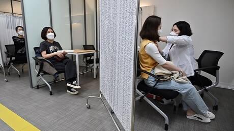 كوريا الجنوبية ترصد 94 حالة ظهور آثار جانبية للتطعيم خلال يوم