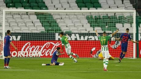 ترتيب الدوري الإسباني بعد تعثر أتلتيكو أمام بيتيس وفوز الريال على برشلونة