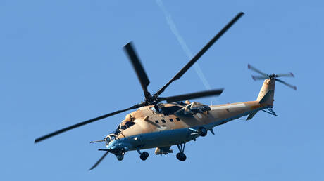 """مروحية """"مي - 35 إم"""" الروسية تنال إعجاب سلاح الجو البرازيلي"""