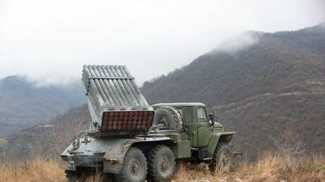 روسيا بصدد تصنيع راجمة صواريخ خفيفة