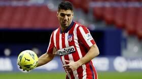 أتلتيكو مدريد يعلن تعرض لويس سواريز للإصابة خلال التدريبات