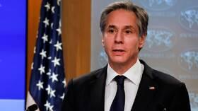 وزير الخارجية الأمريكي يؤكد تضامن بلاده التام مع الأردن بقيادة ملكها
