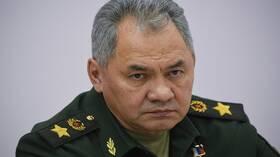 شويغو: الولايات المتحدة والناتو يحركان قوات باتجاه حدود روسيا