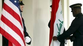 بغداد وواشنطن تبحثان التعاون الأمني وتشكيل لجنة عسكرية مشتركة