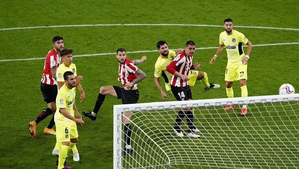 أتلتيكو مدريد ينجو من هدف في الوقت القاتل