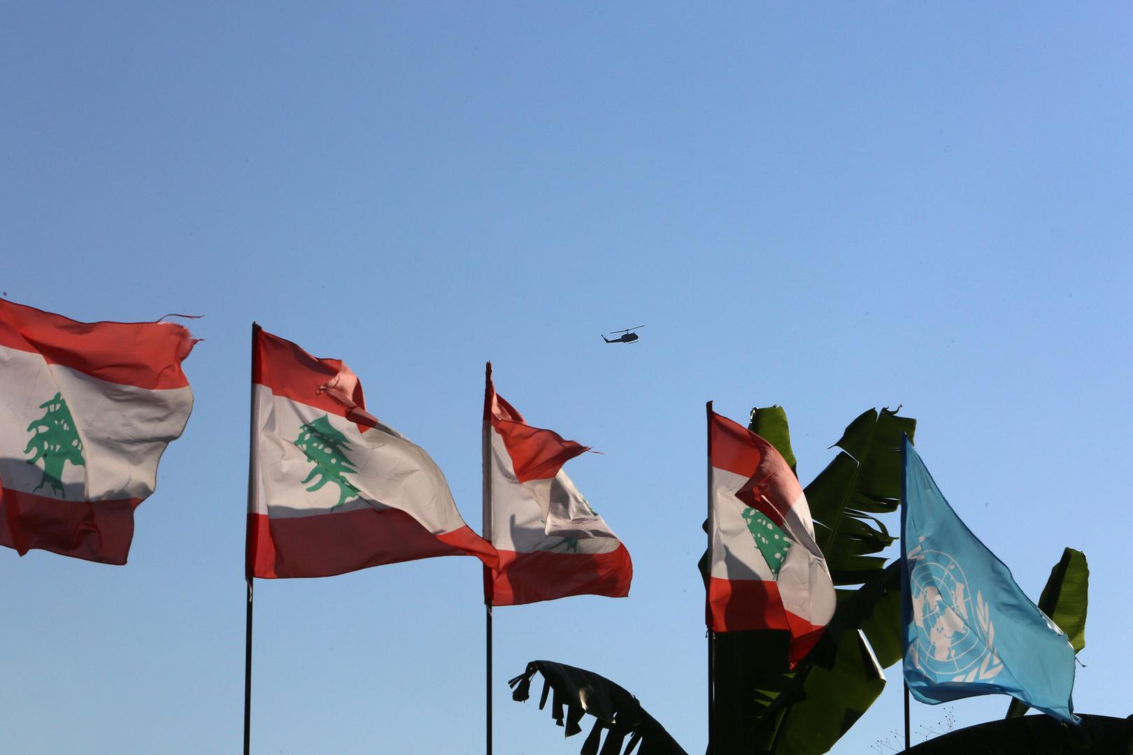 جيش لبنان يتهم القوات الإسرائيلية بالإقدام على انتهاكات حدوده الجوية والبحرية