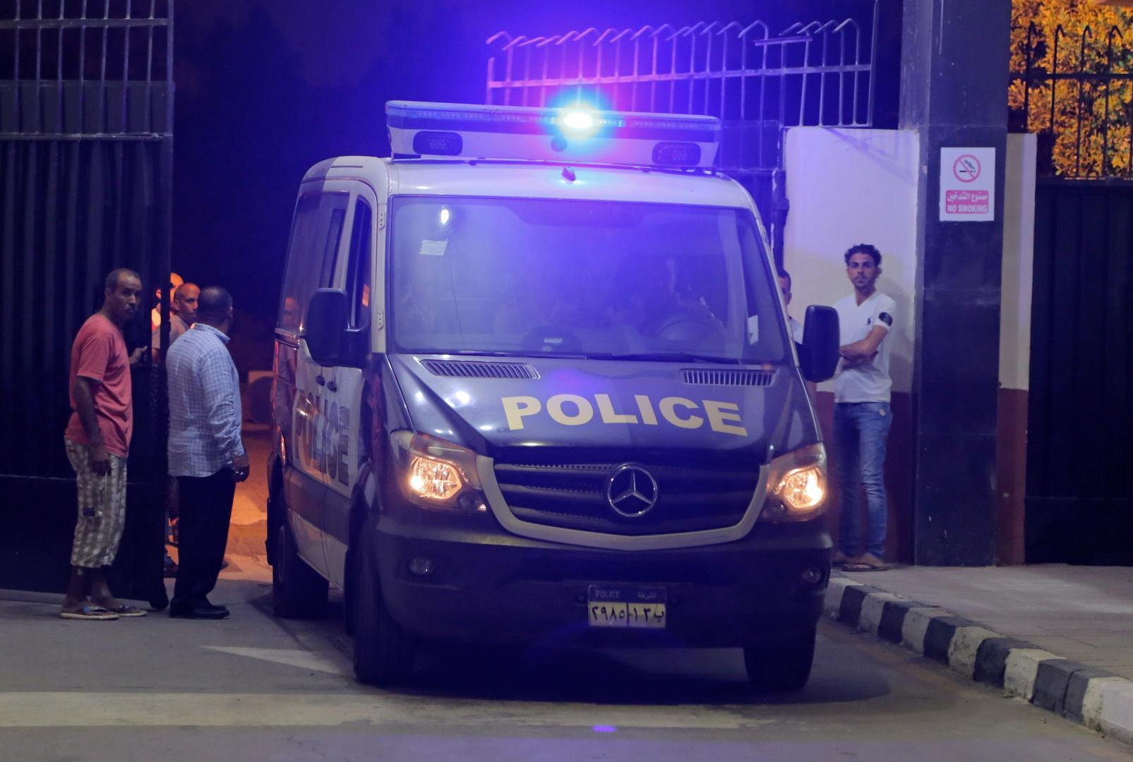 آلية تابعة للشرطة المصرية